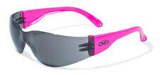 Global Vision Pro Rider Neon Smoke Lenses - Safety Glasses ANSI Z87+