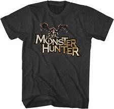 Monster Hunter Monster Logo Capcom Video Game Adult T Shirt