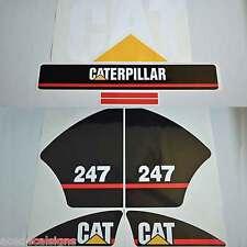 CAT 216 226 236 242 246 247 252 257 267 Decals Stickers Kit Skid Steer loader