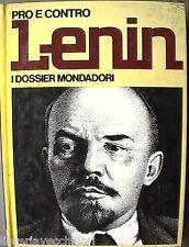 PRO E CONTRO LENIN Marisa Paltrinieri Mondadori Biografia Comunismo URSS Storia