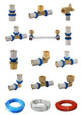 Pressfitting Mehrschicht DVGW Verbundrohr TH 16x2 20x2 26x3 32x3 Fitting Rohr