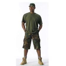 Rothco 7765 Woodland Camo Long Length BDU Shorts