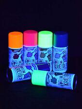 150ml Schwarzlicht Neon Sprühkreide Kreide Neonfarbe Schwarzlichtfarbe