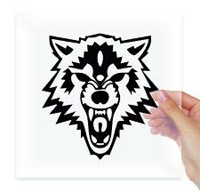 Wolves Wolf Head Motorbike Vinyl Sticker Decals Car Auto Moto Bumper Glass Art