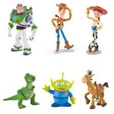 Bullyland Walt Disney *Toy Story* Figuren Woody, Buzz Lightyear, Bully, Rex -NEU