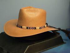 MONTECARLO BULLHIDE SEQUOIAH PECAN COWBOY WESTERN HAT