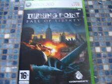 Xbox 360 Turning Point Fall of Liberty Nuevo