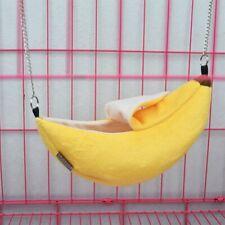 1x Banana Hammock Hanging Bunk Bed House For Sugar Glider Hamster Small Bird Pet