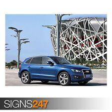 AUDI Q5 3.0 TDI QUATTRO CAR 11 (AC948) CAR POSTER - Poster Print Art A0 A1 A2 A3