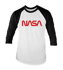NASA Worm Unisex Baseball T-Shirt All Sizes