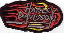 HARLEY DAVIDSON Parche Parche Modelo LLAMA HD TAMAÑO aprox. 10,5cm A 5,7 cm