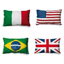 SELETTI federa esterna per cuscino guanciale FLAGS CUSHION bandiere