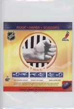 2008-09 Enterplay Fan Pak Paper Scissors #G38 Rock Hockey Card