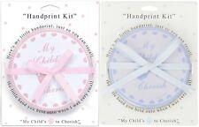 Child to Cherish Baby Handprint Tin Plaster Hand Print Kit -Pink or Blue- 159652