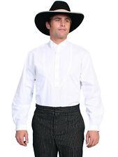 Scully Wahmaker Big Men's 100% Cotton Long Sleeve Banker Western Shirt 568350X