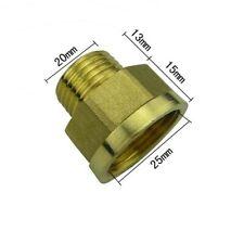 """Lot of 14x Lasco 17-9256U 3//4/"""" MIP x 3//8/"""" FIP Male x Female Brass Reducer"""