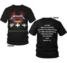 Metallica Master of Puppets M, L, XL, 2XL, 3XL Black T-Shirt