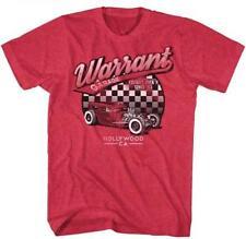 WARRANT Garage 1983 Hot Rod Glam Hair Metal CLASSIC Rock Band Concert T-Shirt