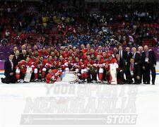 Team Canada Gold Medal 2014 Olympics 8x10 11x14 16x20 4131