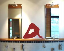 Wandtattoo Yoga Bhujangasana Wandaufkleber   25 Farben 6 Größen