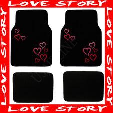 PINK HEART LOVE STORY CARPET FLOOR MATS (BEST QUALITY) AAA+