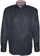 Men's Designer Italian Slim Fit Long Sleeve Casual Shirts Big Size's 2XL 3XL