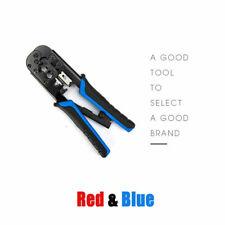 Ethernet Network Cable Crimp Tool Crimper Multi-function RG45/11 Cutter Pliers