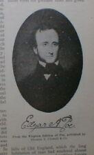 Edgar Allan Poe - Hawthorne 1902 Origins