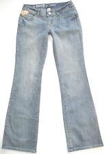 "New! MOSSIMO Light Wash BOOTCUT Jr sz 3L 34""Long Tall Womens Jeans Stretch Fit 6"