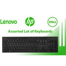 Brand Name USB Keyboard Lots Dell Microsoft Lenovo HP QWERTY 10 20 25