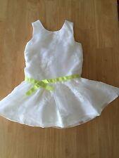NWT Gymboree Lawn Party White Floral Organza Dress 4 5 7 10  Easter Wedding