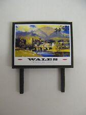 BR Wales - Model Railway Billboard - N & OO Gauge