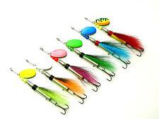 SPIN Flyer Spinner, Spinnerbaits, Pesca, Trota, sbirolino, sandra luccio esche, mare