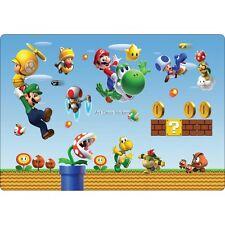 Sticker PC ordinateur portable Mario et ses amis réf 16225 16225