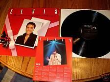ELVIS MEMORIES OF CHRISTMAS LP WITH CALENDAR
