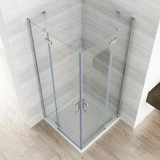 Duschkabine Eckeinstieg Duschwand Duschabtrennung NANO Glas 80x80 90x90 100x100