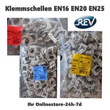REV RITTER Klemmschellen für Stangenrohr Elektrorohr M16 M20 M25 anreihbar NEU