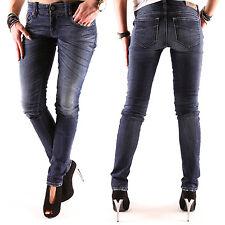 NEW DIESEL GRUPEE Super Slim Jeans Donna Pantaloni W L 24 25 29 30 31 32 NUOVO