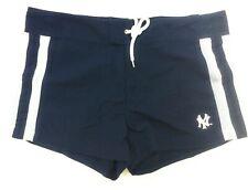 Womens G-III MLB New York NY Yankees Swim Bathing Suit Cover Up Navy Blue Shorts