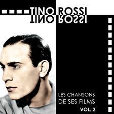 CD Tino Rossi - Les chansons de ses films : Volume 2