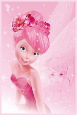 De Disney Tinkerbell Campanita En Rosa Cartel 61x91,5 Cm