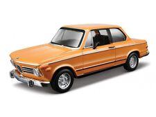 BMW 2002 Tii 1972 1:32 Scale Diecast Metal Car Model Die Cast models Burago
