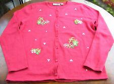 Croft Barrow Holiday Christmas Presents Sweater Sz S