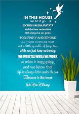 Disney Citazione Poesia Bambini Famiglia Campanellino