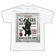 Johnny Cash - Nashville Adult Mens T-Shirt