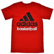 Adidas Basketball Mens Red T-Shirt
