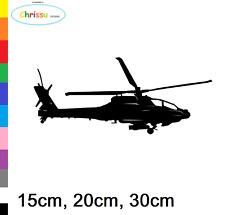 Helicopter Aufkleber Auto und Wandtattoo Pilot Hubschrauber Decal Heli 152/1