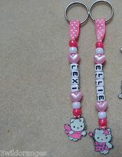 Personalizado bolsa etiqueta Bagtag Llavero Hello Kitty
