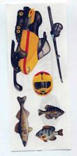CREATIVE MEMORIES FISHING #4 STICKER STRIP BN & NLA