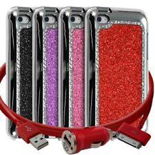 Housse Etui Coque Paillette et Diamants pour Apple iPod Touch 4G + chargeur aut